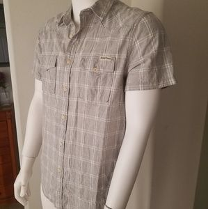 Lucky Brand Western Style S/S Button Up Shirt
